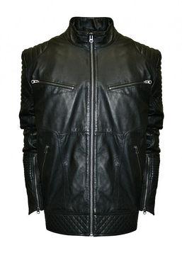 Asstd National Brand Raw X MOTO Leather Jacket