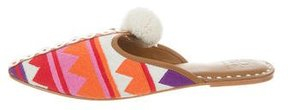 Figue Soulika Patterned Mules w/ Tags