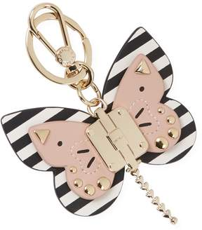 Furla Women's Allegra Butterfly Leather Keyring