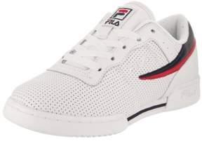 Fila Kids Original Fitness Perf Wht/Fnvy/Fred Lifestyle Shoe 5.5 Kids US