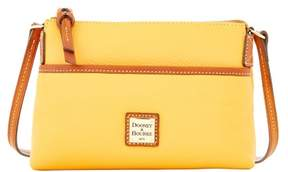 Dooney & Bourke Pebble Grain Ginger Pouchette Shoulder Bag - MELON - STYLE