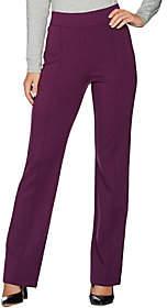 C. Wonder Regular Boot Cut Pull-On Ponte Knit Pants