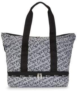 Le Sport Sac Logo-Print Tote Bag