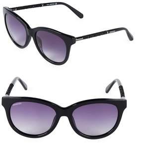 Swarovski Women's 56MM Oval Sunglasses