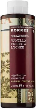 Korres Vanilla Freesia Lychee Shower Gel