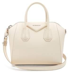 Givenchy Antigona Small Leather Bag - Womens - Cream