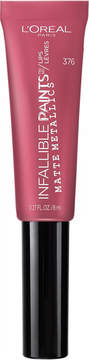 L'Oreal Infallible Paints/Lips Matte Metallic - Flamingo Floss - Only at ULTA