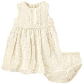 Osh Kosh Baby Girl Crochet Lace Dress