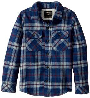 Quiksilver Fitzspeere Long Sleeve Shirt Boy's Long Sleeve Button Up