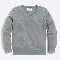 J.Crew Factory Boys' classic V-neck sweater