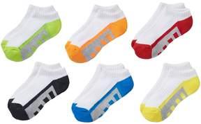 Tek Gear Boys 6-pack No-Show Performance Socks
