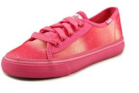Keds Double Up Youth Round Toe Canvas Pink Sneakers.