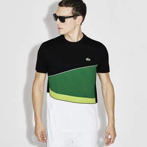 Lacoste Men's Sport Resistant Colorblock Piqu Tennis T-Shirt