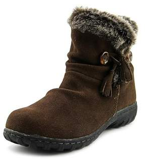Khombu Womens Isabella Suede Round Toe Mid-calf Cold Weather Boots.