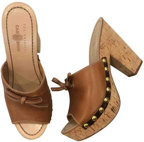 Car Shoe Leather mules & clogs