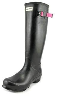 Hunter Field Tall Women Round Toe Synthetic Rain Boot.