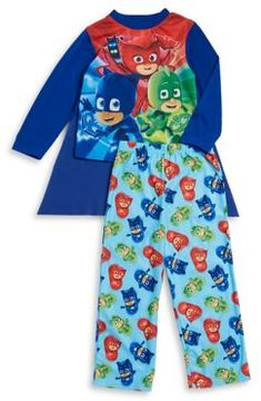 AME Sleepwear Little Boy's PJ Masks Pajama Set