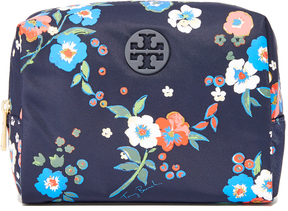 Tory Burch Quinn Floral Brigitte Cosmetic Case