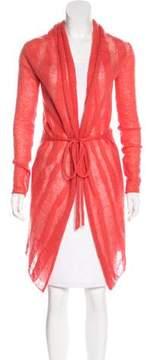 Cacharel Shawl Collar Lightweight Cardigan