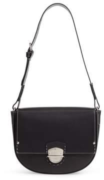 Ghurka Marlow Ii Leather Shoulder Bag - Black