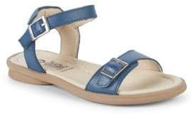 Old Soles Little Girl's & Girl's Nevana Leather Sandals