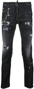DSQUARED2 Buchi regular Clement jeans