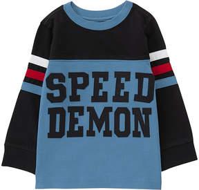 Gymboree Blue Color Block 'Speed Demon' Tee - Infant, Toddler & Boys