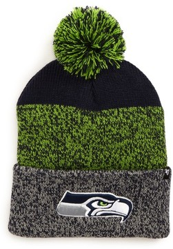 '47 Women's Seattle Seahawks Static Cuff Knit Beanie - Blue