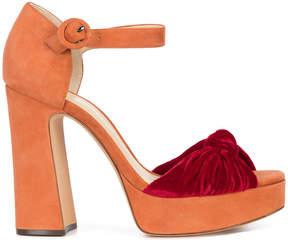 Alexandre Birman bow front sandals
