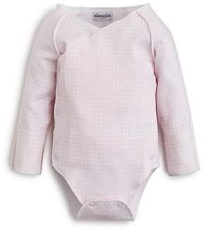 Absorba Girls' Long Sleeve Gingham Bodysuit - Baby