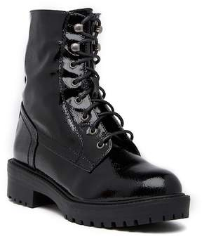 Coolway Draco Velvet Combat Boot