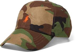 Ralph Lauren Camo Cotton Baseball Cap