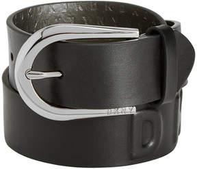 DKNY Puffed Logo Belt, Created for Macy's