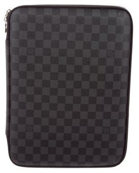 Louis Vuitton Damier Graphite Laptop Sleeve