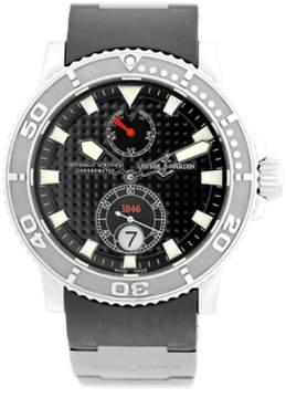 Ulysse Nardin Maxi Marine Diver Stainless Steel Strap Watch