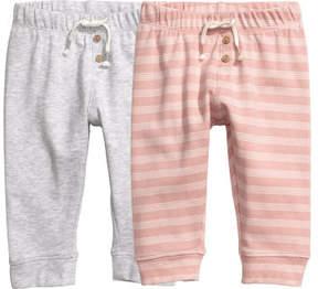 H&M 2-pack Leggings - Pink