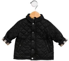 Burberry Infants' Classic Quilted Jacket