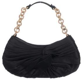 Anya Hindmarch Pleated Satin Chain-Link Handle Bag