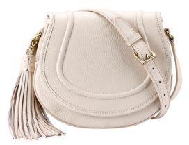 GiGi New York Jenni Pebbled Leather Saddle Bag