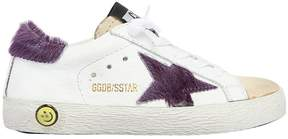 Golden Goose Deluxe Brand Super Star Leather & Ponyskin Sneakers