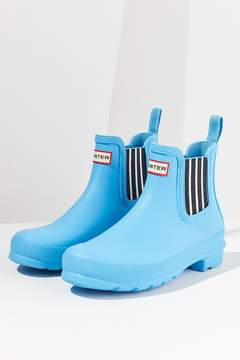 Hunter Garden Stripe Chelsea Rain Boot