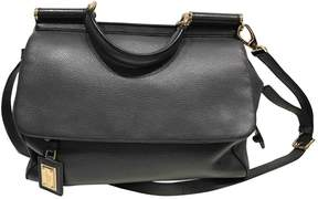 Dolce & Gabbana Sicily leather handbag - GREY - STYLE