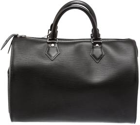 Louis Vuitton Speedy leather satchel - BLACK - STYLE