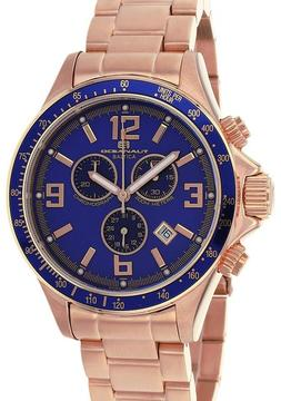 Oceanaut OC3332 Men's Baltica Rose Gold Stainless Steel Watch with Chronograph
