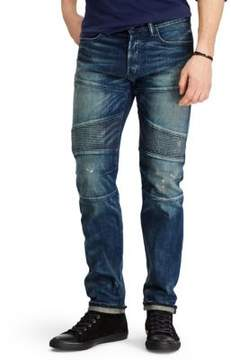 Polo Ralph Lauren Alamo Slim-Fit Moto Jeans