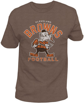 Authentic Nfl Apparel Men's Cleveland Browns Midfield Retro T-Shirt