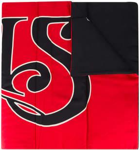 Balenciaga Paris 1987 padded shawl