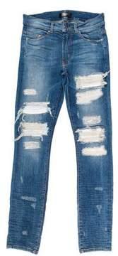 Amiri MX-1 Distressed Skinny Jeans
