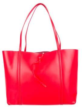 Kara Leather Tie Tote