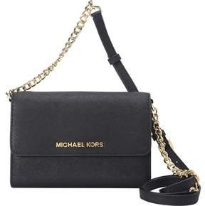 MICHAEL Michael Kors Jet Set Large Phone Crossbody - BLACK - STYLE
